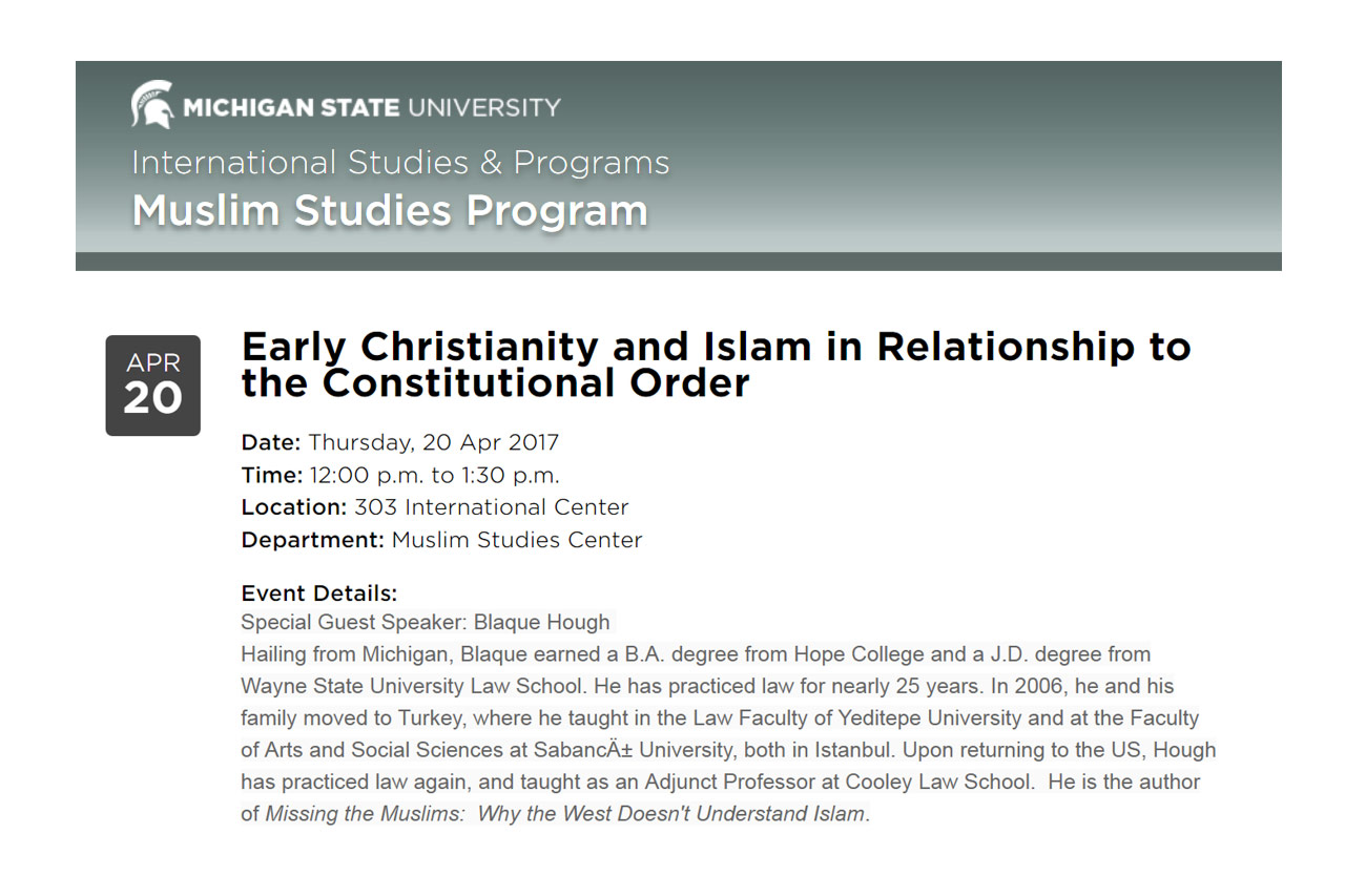 20170325-Early-Christianity-and-Islam-in-Relationship-to-the-Constitutional-Order