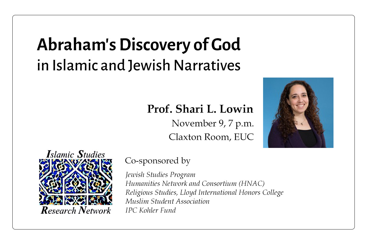 20170907-Abraham-s-Discovery-of-God-Islamic-Jewish-Narratives-Lowin