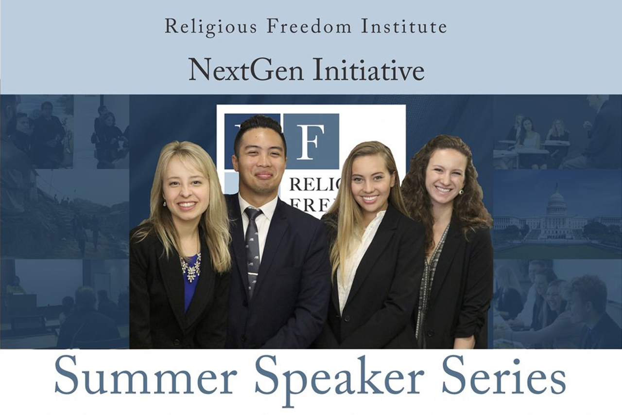 20180605-Religious-Freedom-Institute-2018-Summer-Speaker-Series